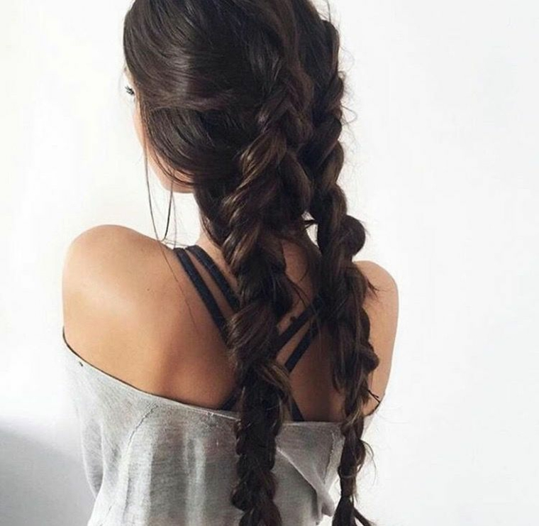 tresses-double-facile coiffures