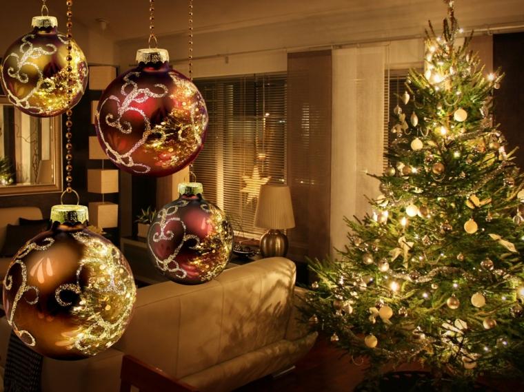 décorations pour boules de noel
