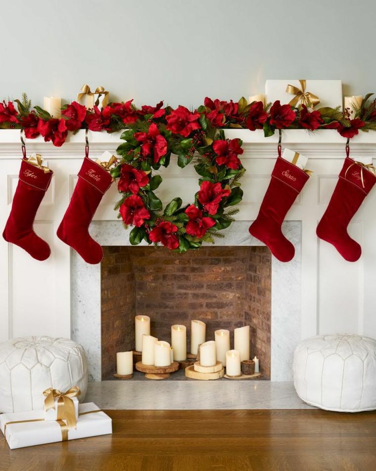 Décorations de Noël pour portes-décorer