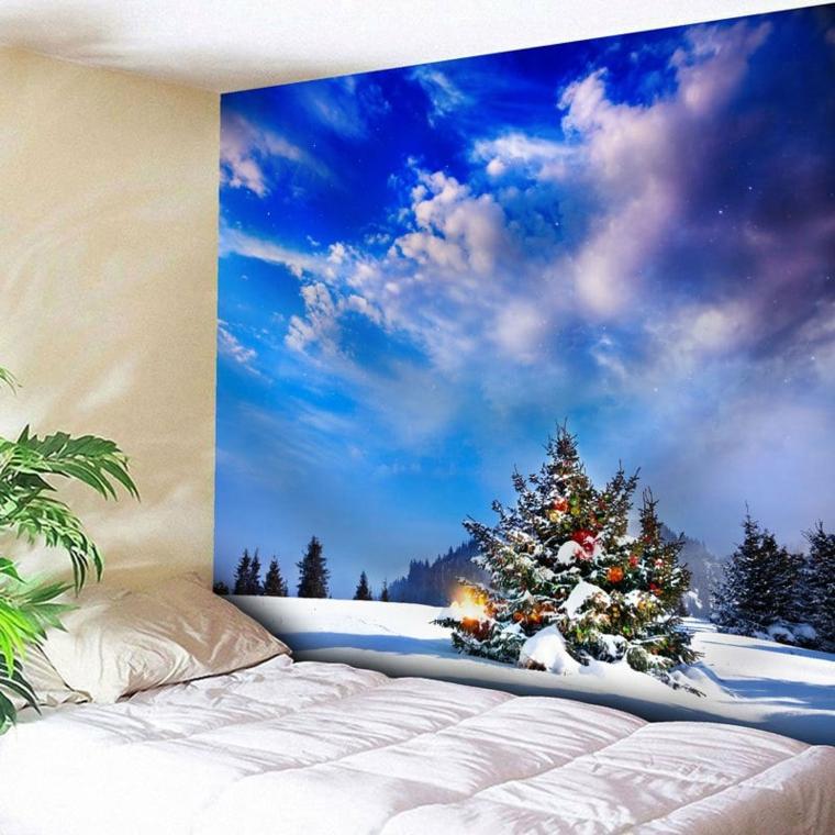 décorations pour les murs de noël