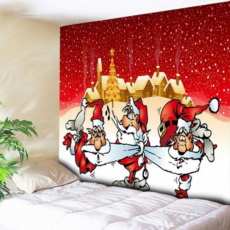 décorations pour mur de noël