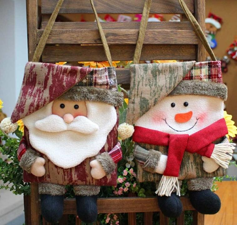 ornements pour arbre de Noël en plein air