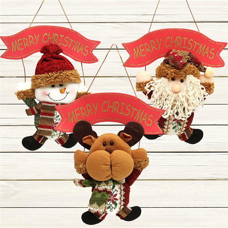 Décorations de Noël pour les portes