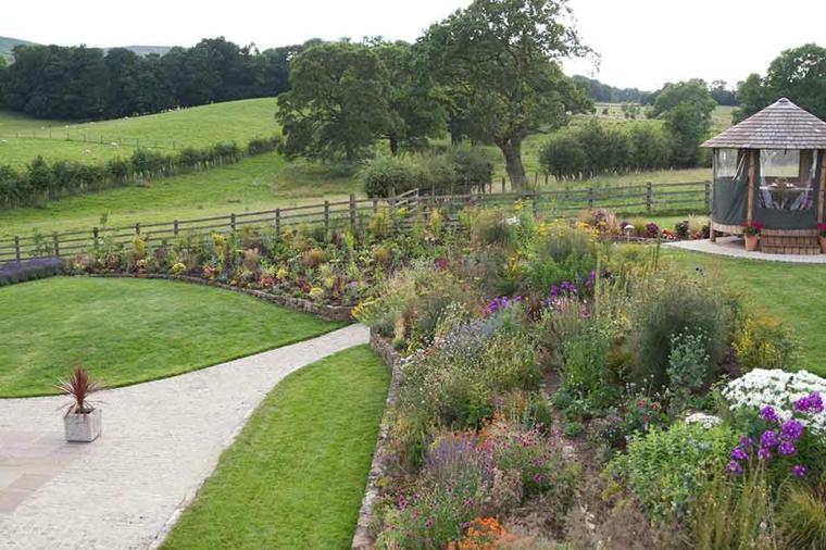 idées de jardins contemporains
