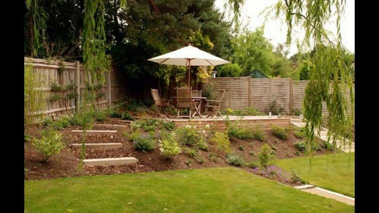 idées de jardins en pente (2)