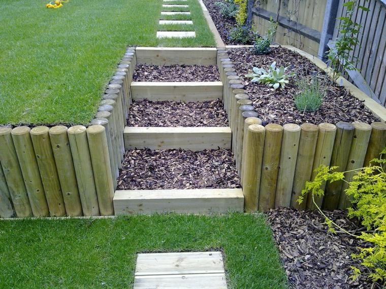 idées de marches de jardins