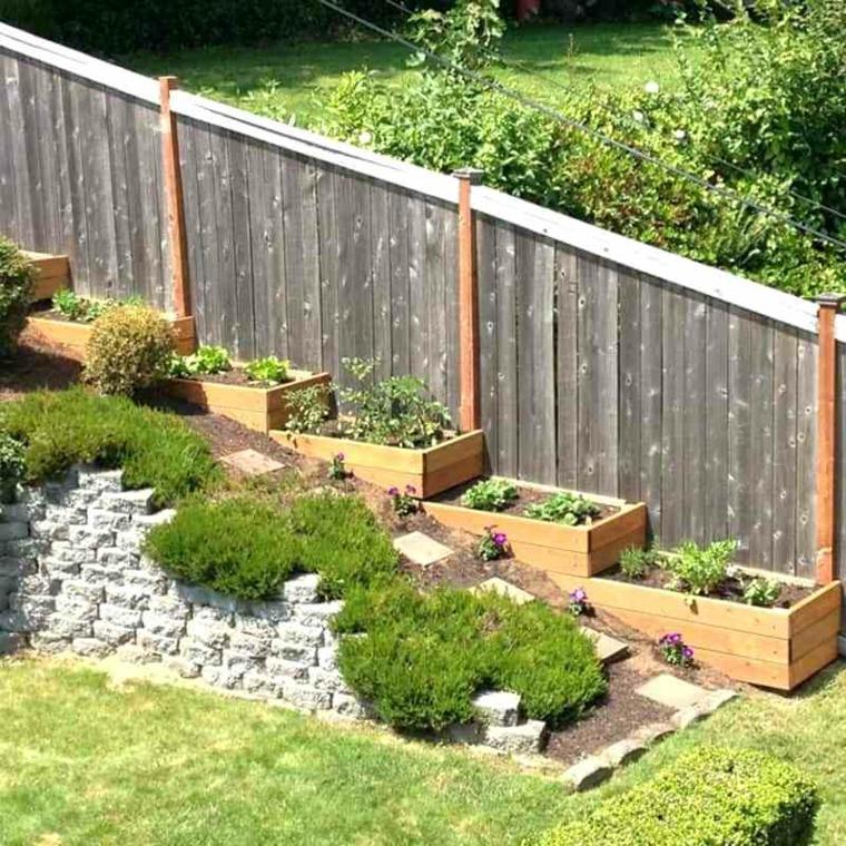 idées de jardinières