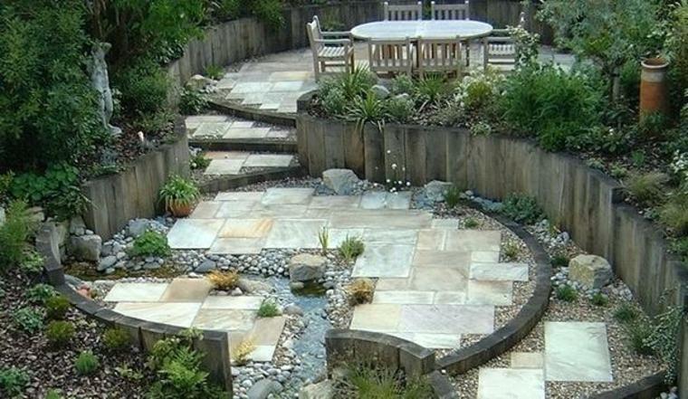 idées pour les murs de jardins