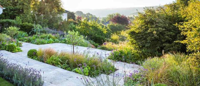 jardins à différents niveaux