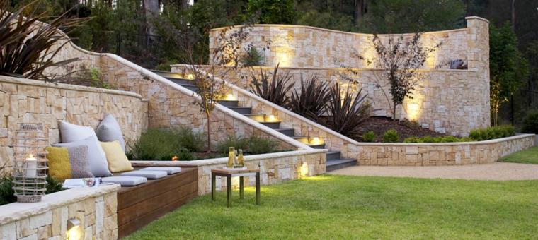 jardins-incliné-éclairage