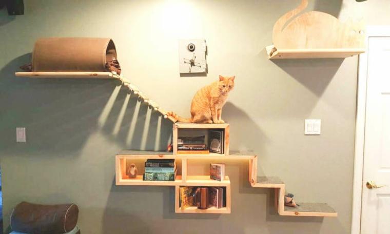 jeux pour étagères chats