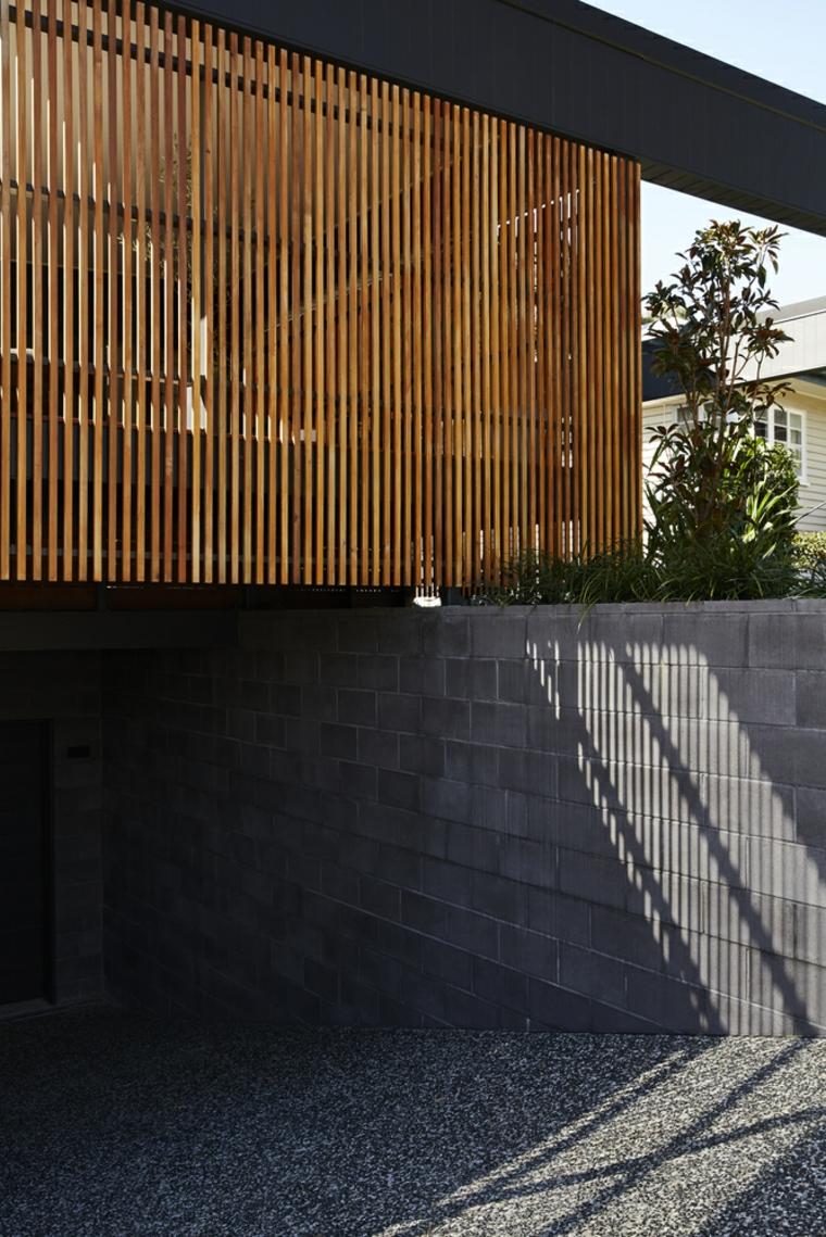 planches de treillis de bois