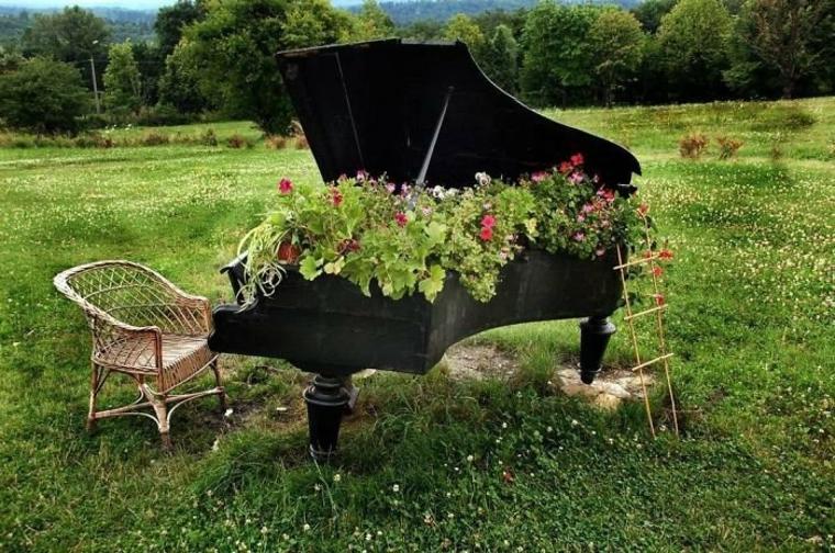 Idées inhabituelles pour la décoration des jardins