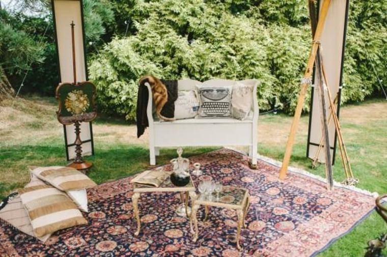 Salon vintage extérieur