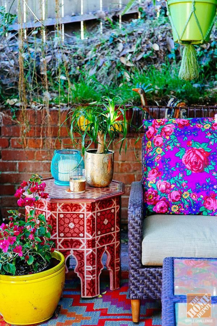 Boho chic décoration