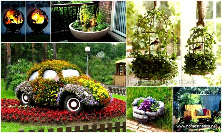 Beaux projets de décoration de jardin