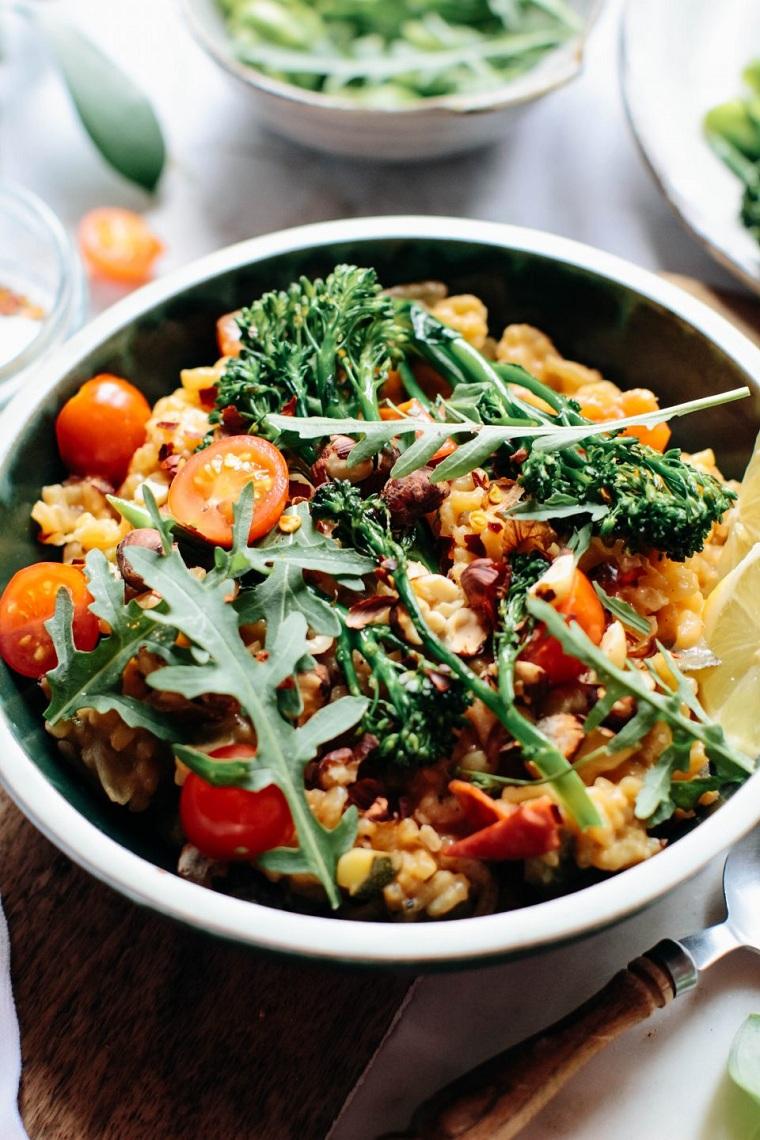recettes-faciles-et-saines-options-saines risotto-legumes