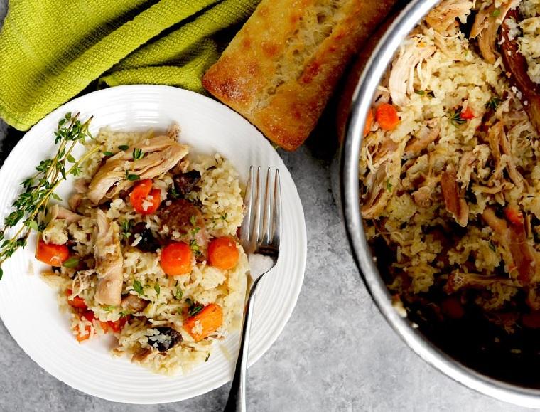 recettes de poulet faciles et saines