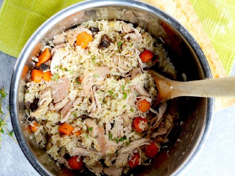 recettes de poulet-riz faciles et saines