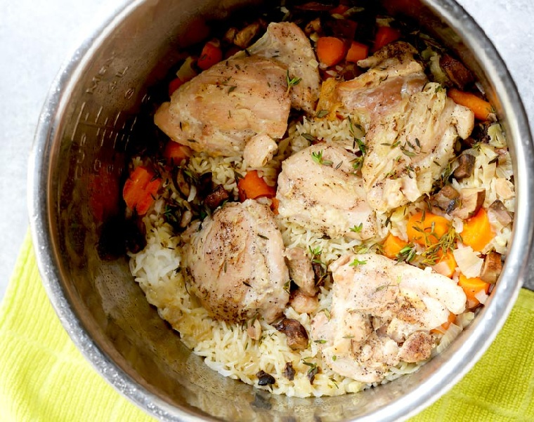 recettes-faciles-et-saines-poulet-riz-legumes
