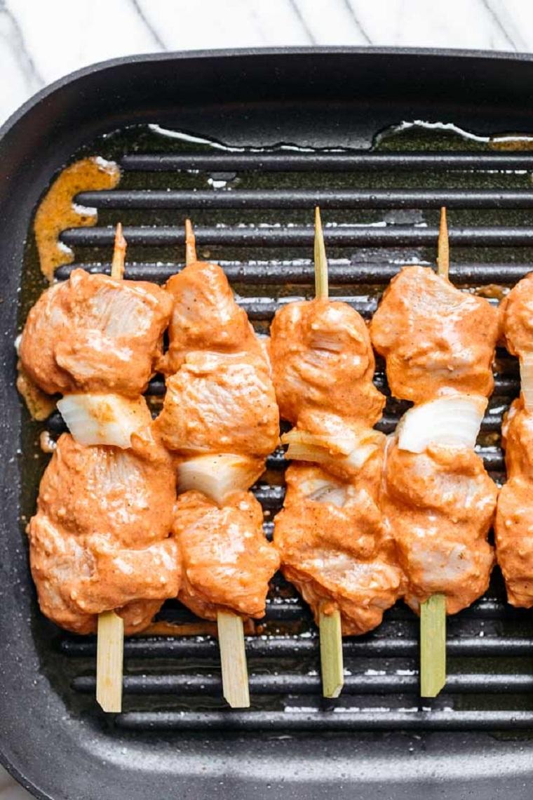 viande-poulet-idées-grill-pan-recette