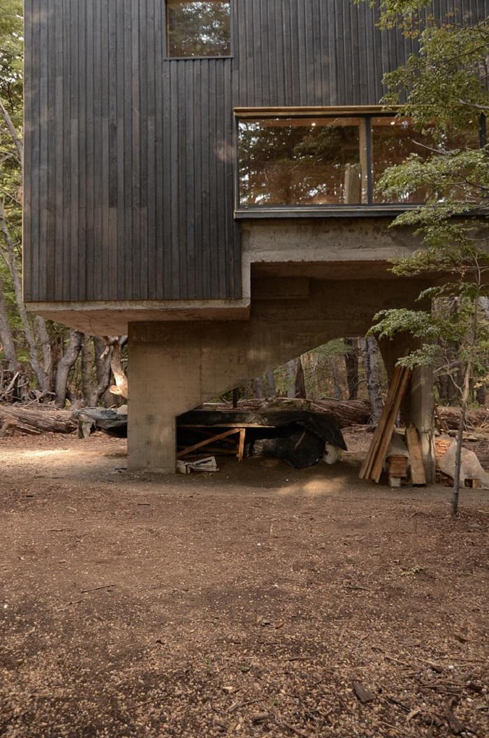 maison-deux-appartements-moderne-terrain
