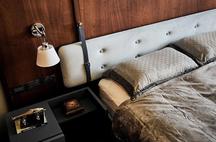 tête de lit-ceintures-cuir-design-moderne