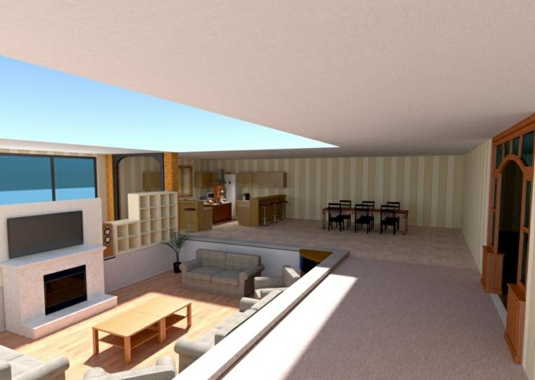 meubles pour le salon intérieur moderne