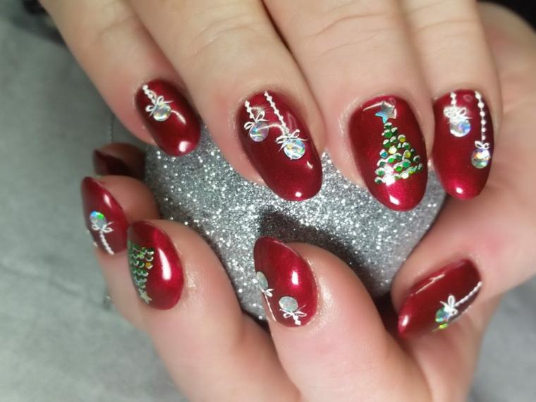 Motifs décorés de Noël