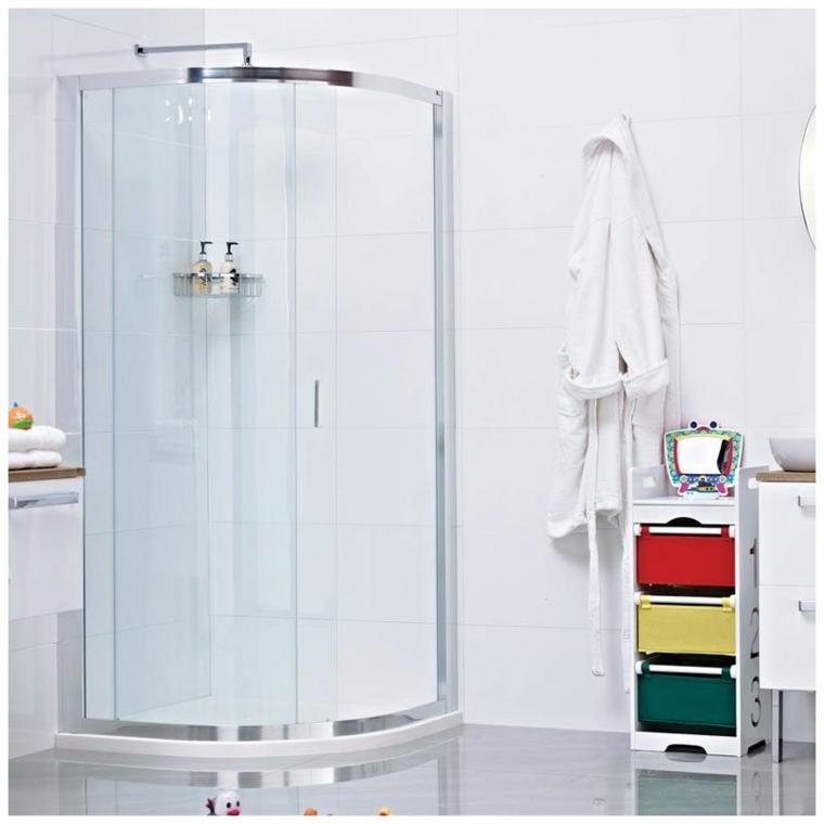 conception de cabine de douche moderne