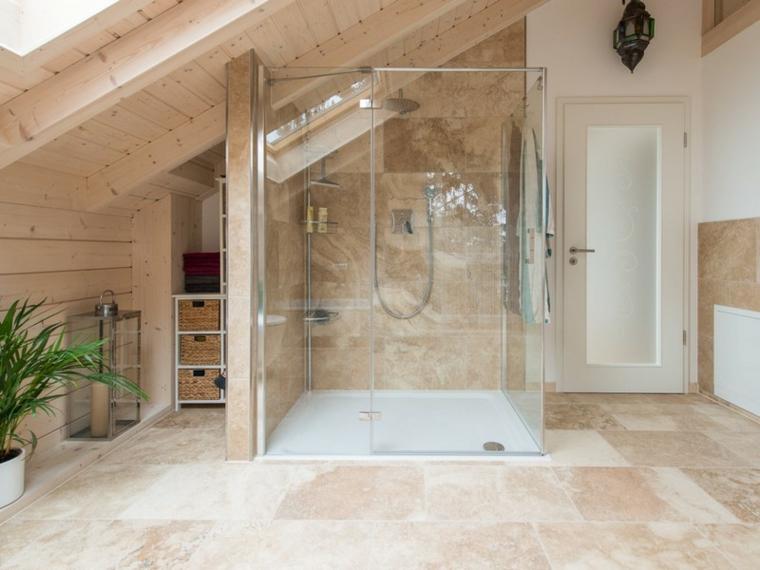 conception originale de la cabine de douche