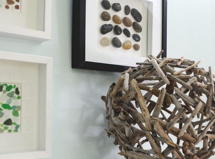 idées de décoration en bois flotté