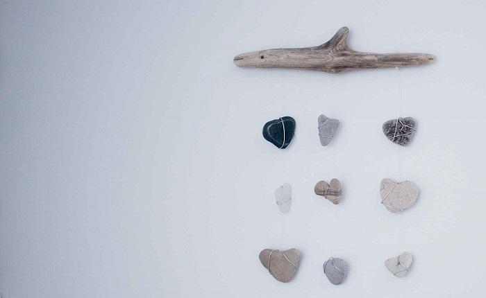 idées de pierres de bois de dérive
