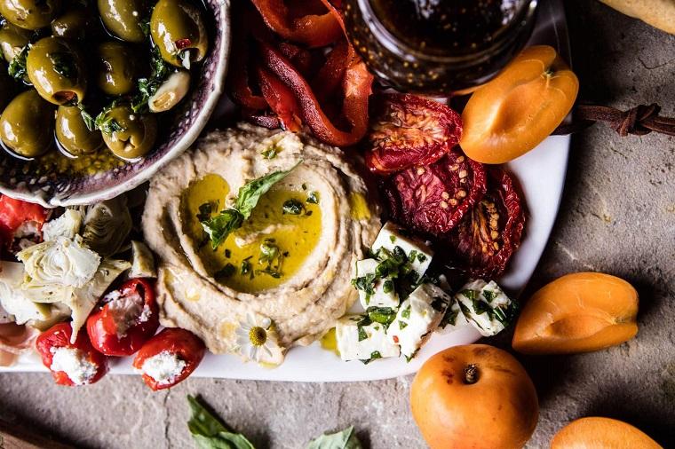 apéritifs-pour-noël-plat-grec-idées