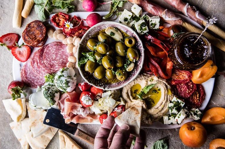 apéritifs-pour-noël-plat-grec-noël
