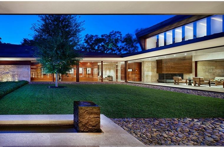 maison moderne différentes façades