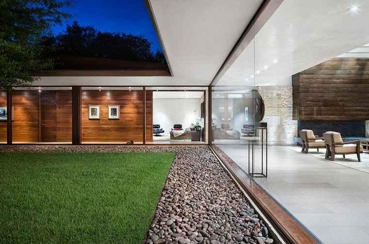 façades extérieures de la maison moderne