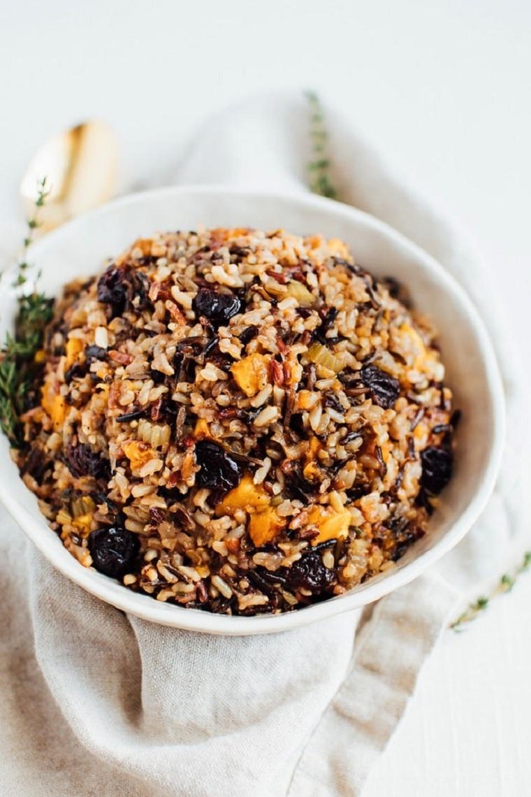 riz sans gluten végétalien