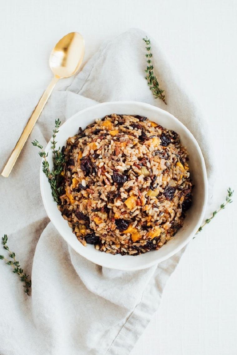 recettes de riz sans gluten végétalien