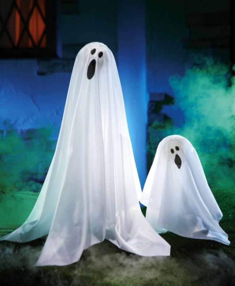 deux fantômes pour Halloween