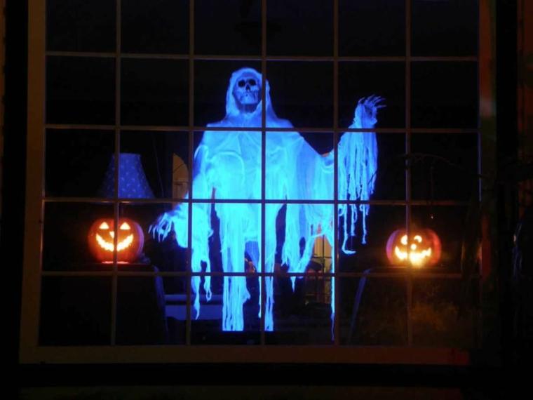 fantôme pour Halloween fluorescent