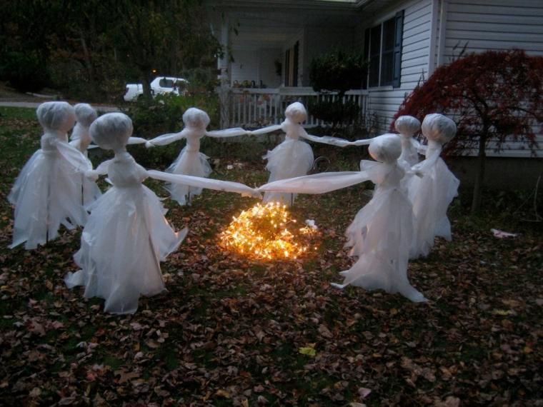 fantômes pour la danse dHalloween