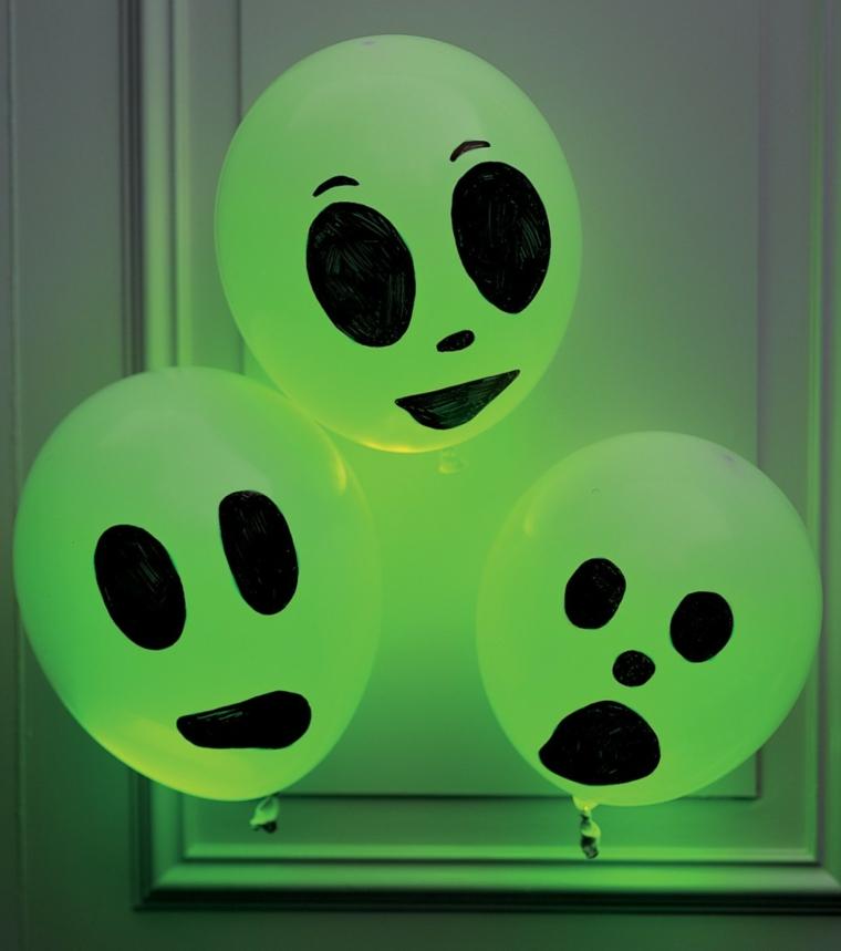 fantômes pour des ballons dHalloween
