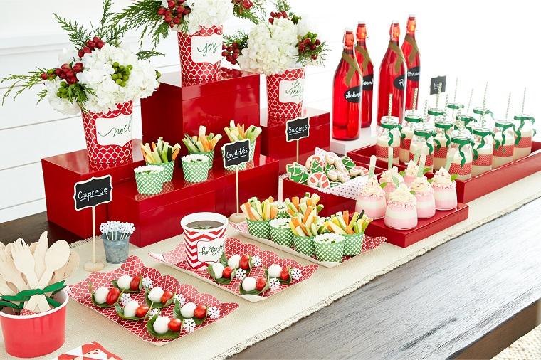 table de fête de noël