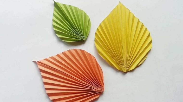 automne artisanat-feuilles-papier