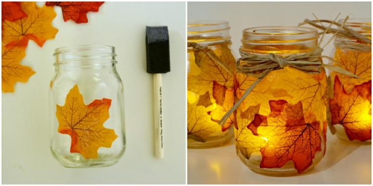 feuilles dautomne pour décorer-intérieur-maison