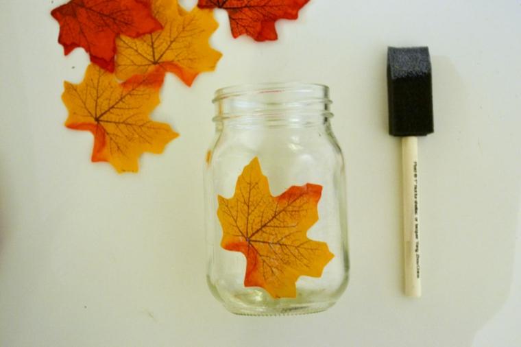 feuilles dautomne pour décorer la maison