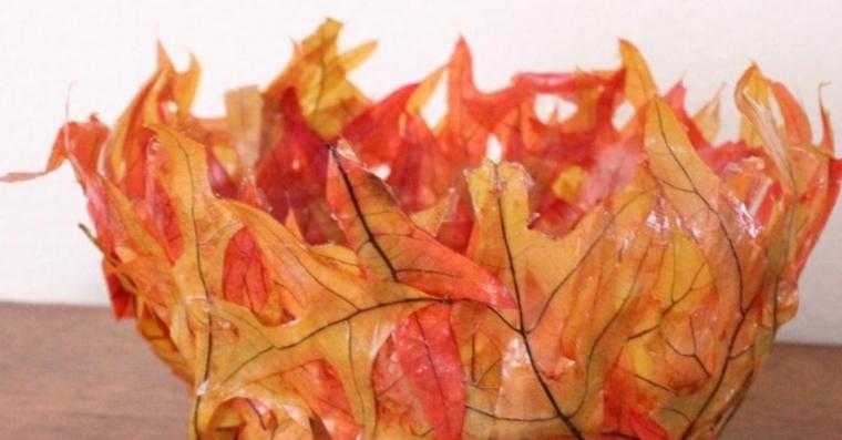 feuilles dautomne pour décorer-cercle