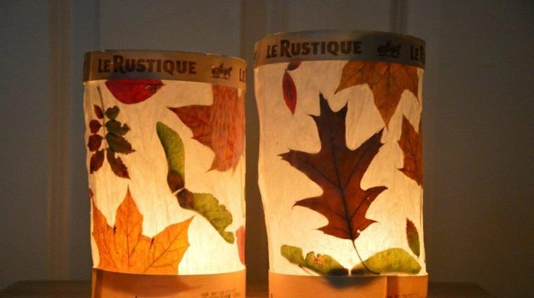 feuilles dautomne pour décorer les intérieurs