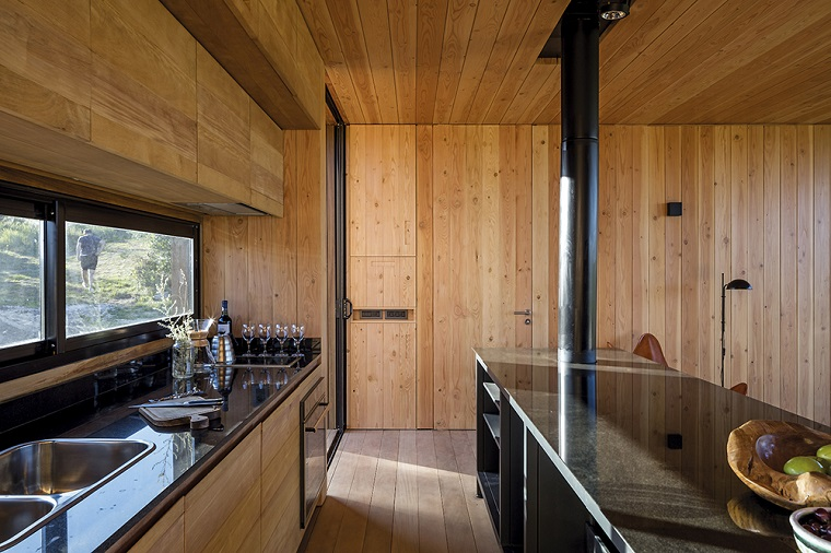 cuisine intérieure rustique